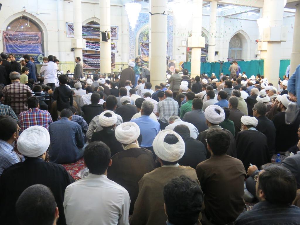 مراسم بزرگداشت حضرت آیت الله شب زندهدار(رضوان الله عليه) در مسجد اعظم + گزارش تصویری