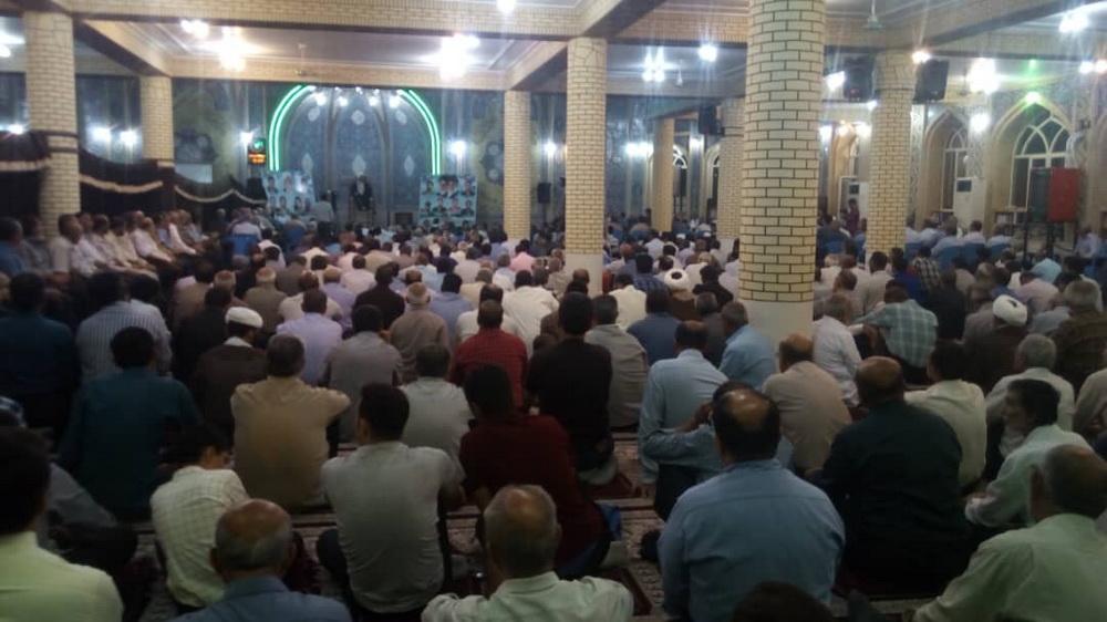 تصاویر/ مراسم بزرگداشت مرحوم آیت الله شب زنده دار در جهرم